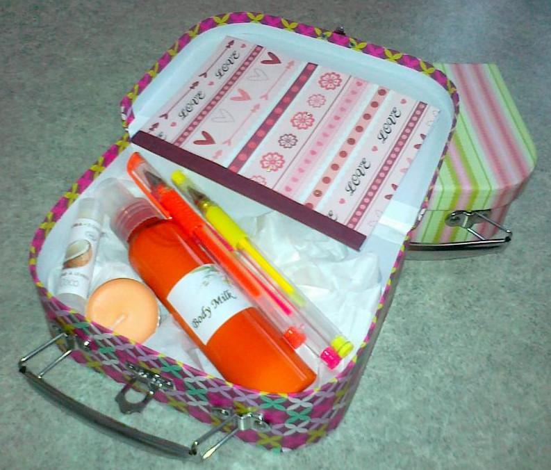 Boites cadeaux, boîtes surprises!