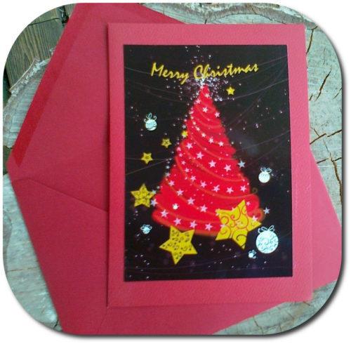 Cartes de Noël ou/et Nouvel An faciles