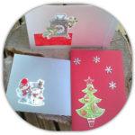 Toujours des Cartes de Noël – Nouvel An