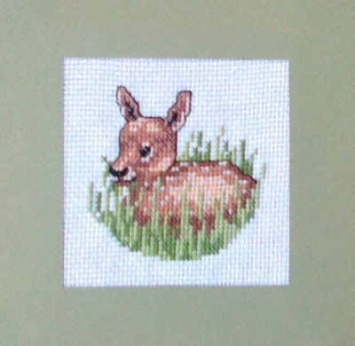 Broderie 2: le Faon