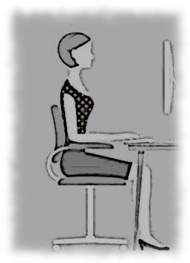 Des étirements au bureau ou devant un ordinateur…(4 minutes)