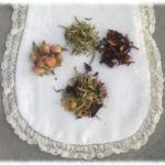 Bain douceur: thé blanc-rose-pamplemousse
