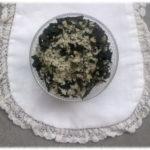 Bain: algues et sel de mer