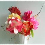 Fleurs en Papier Bristol