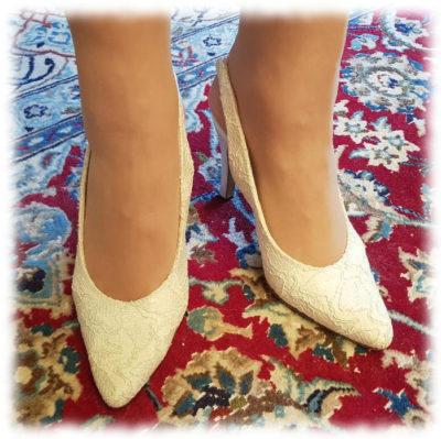 Chaussures Blanches révisées!