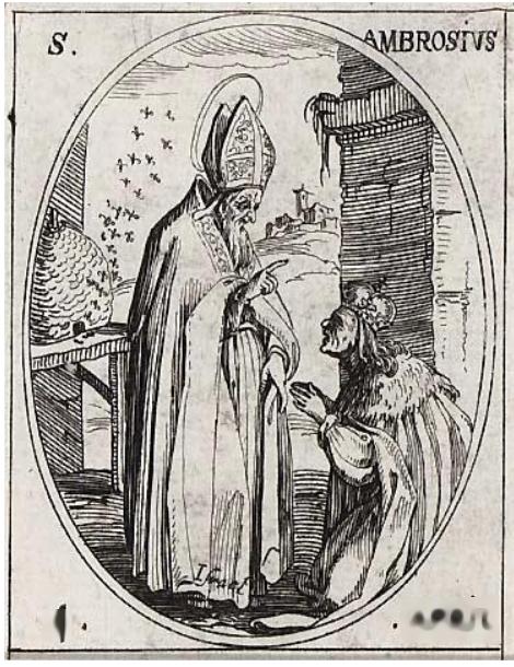 Le Miel, les Abeilles et Saint Ambroise